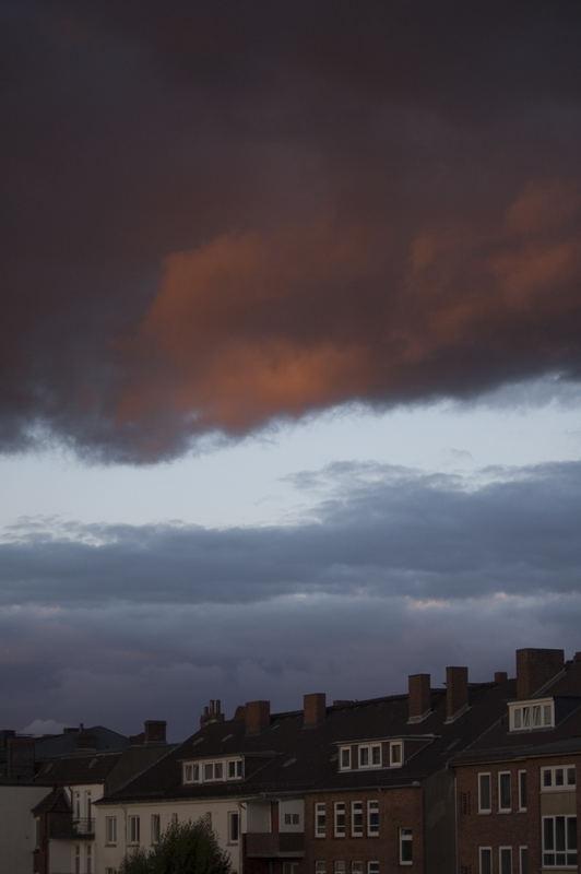 Himmel über Kiel