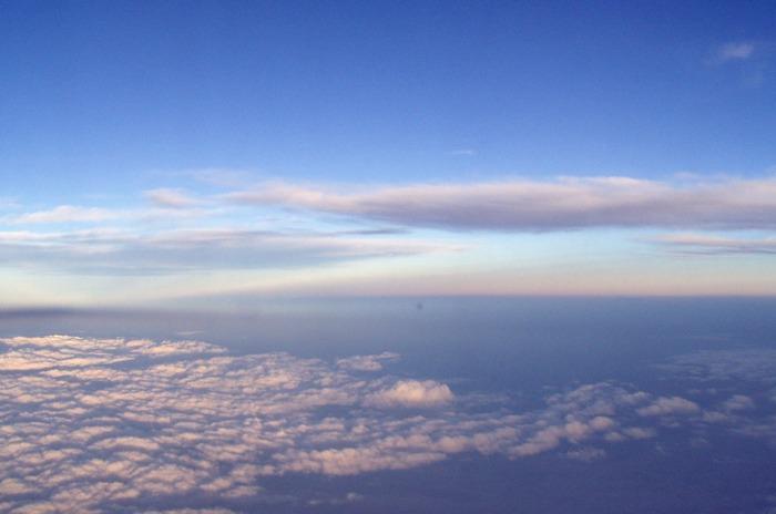 Himmel über Korea