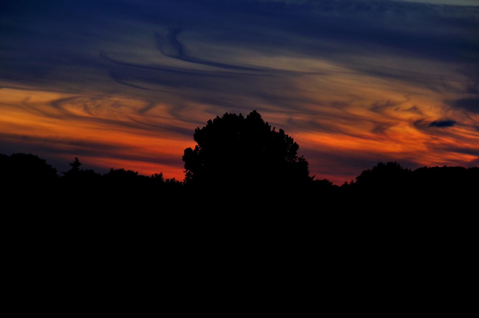 Himmel über Loxstedt