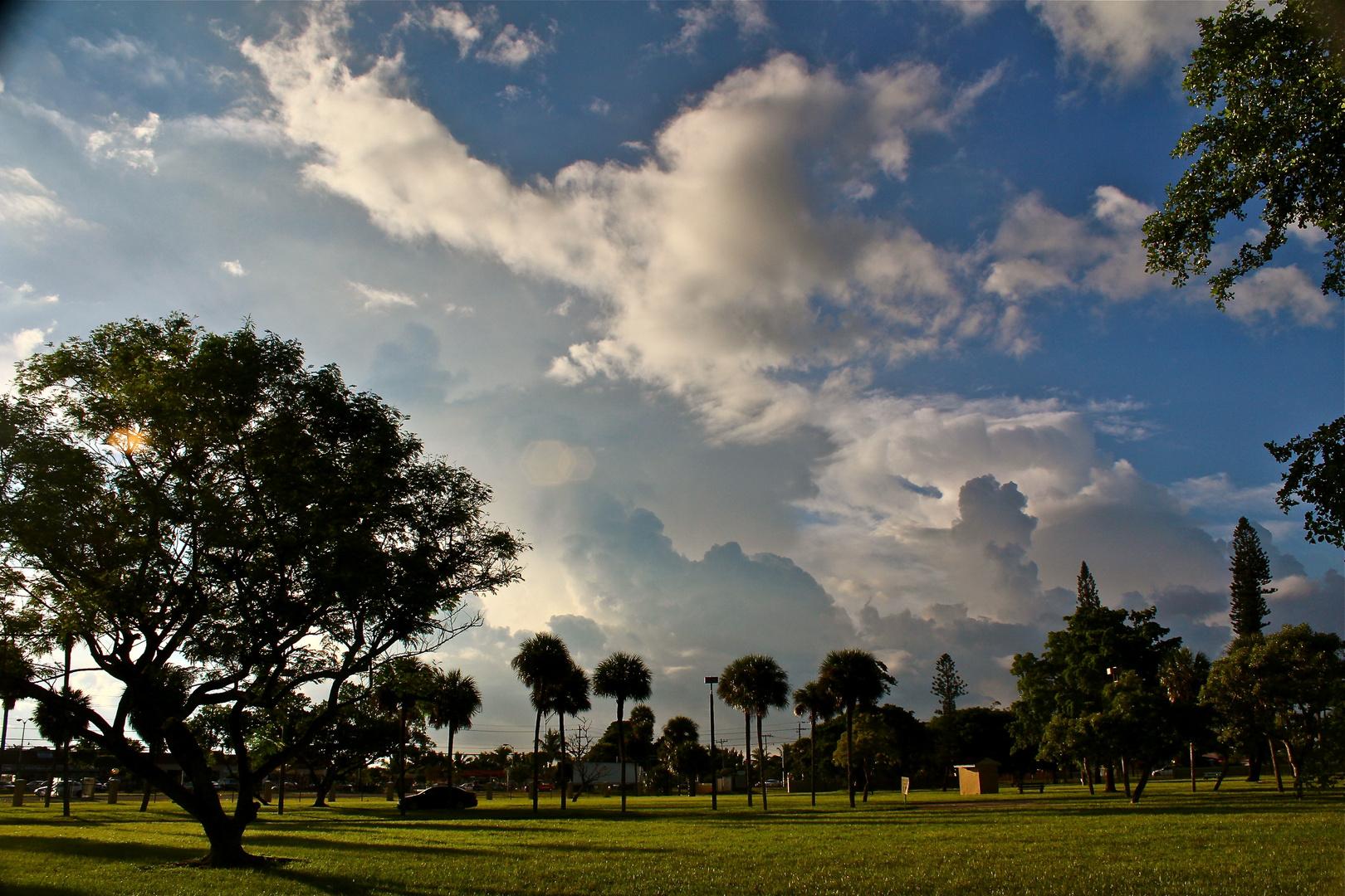 Himmel ueber Miami