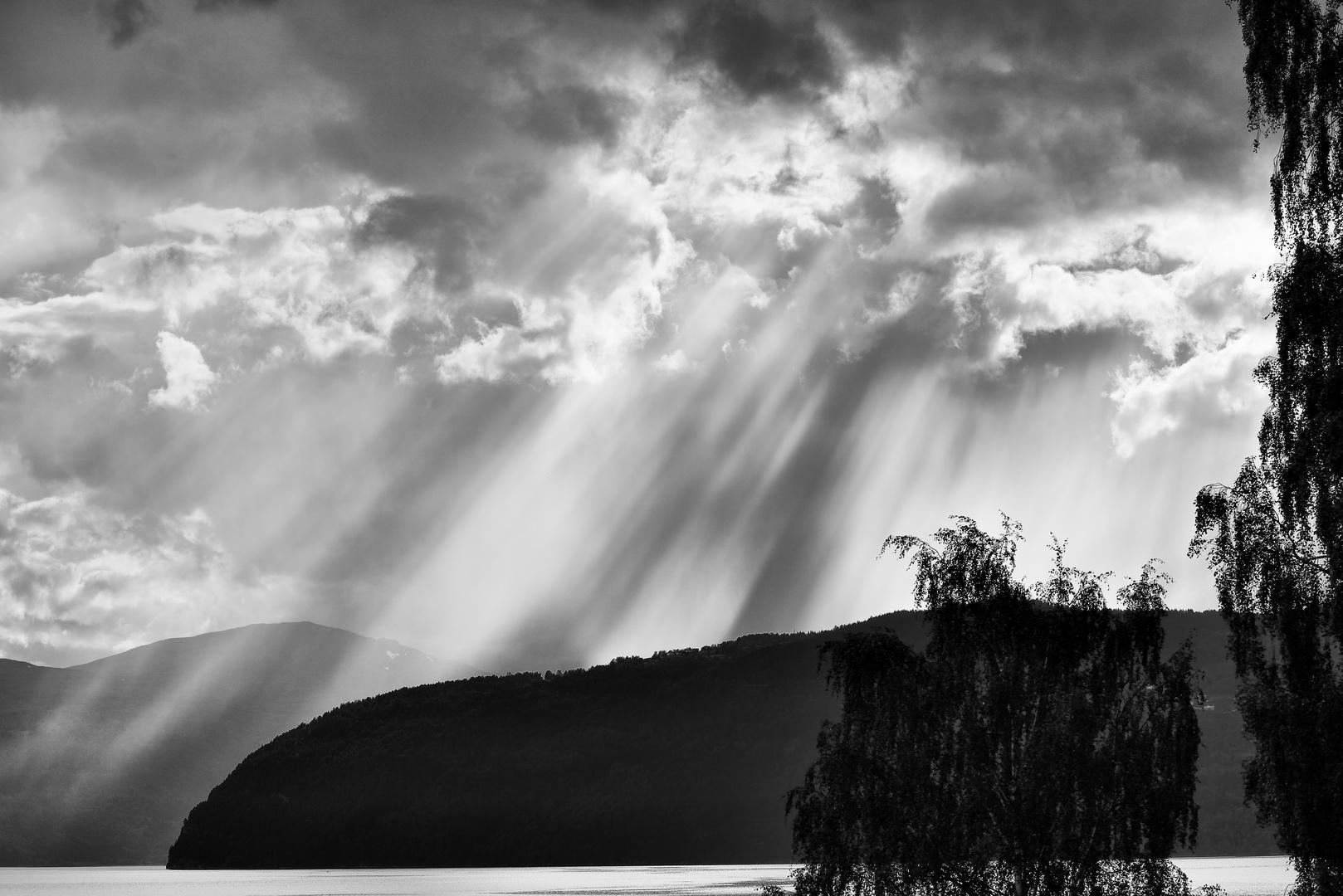 Himmel über Norwegen (2)