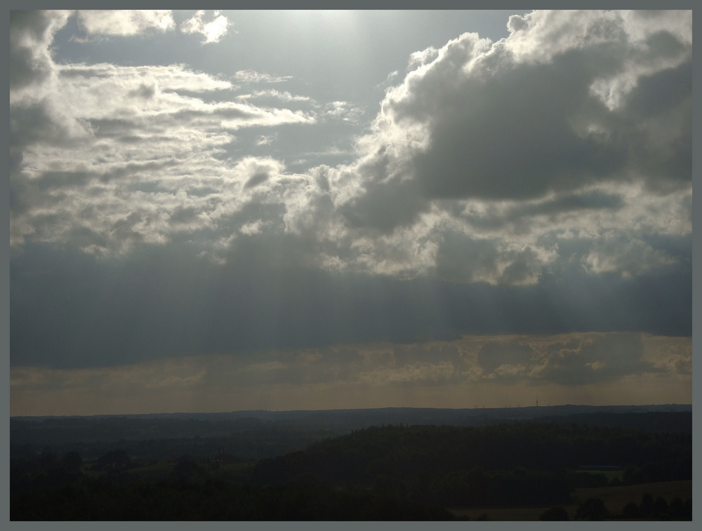 Himmel über Ostholstein