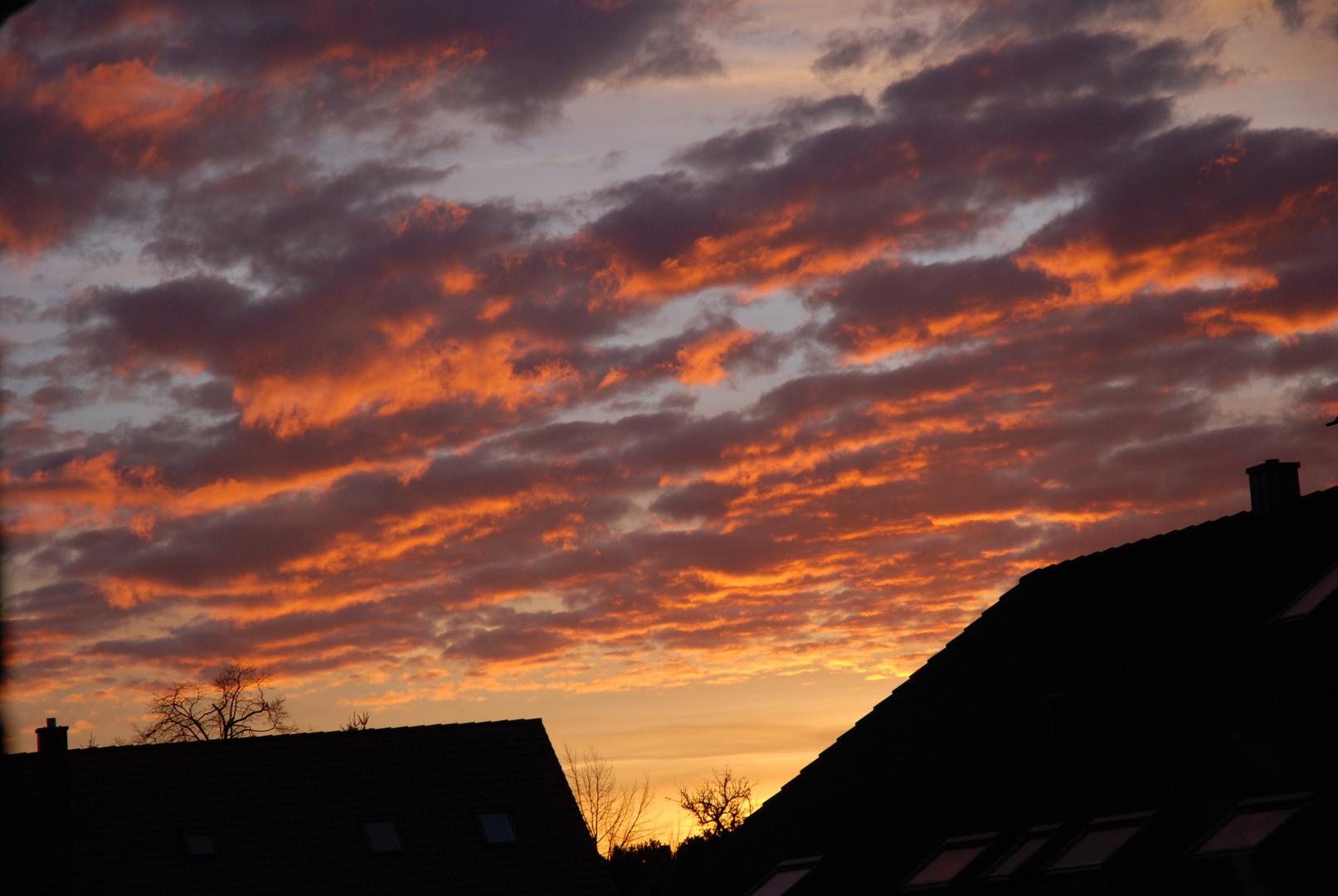 Himmel über Pinneberg