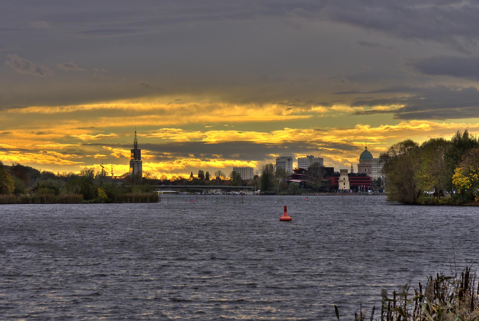 Himmel über Potsdam