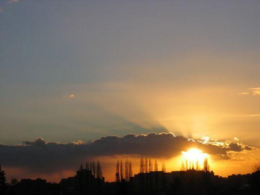 Himmel über Ratingen West