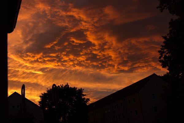 Himmel über Regensburg