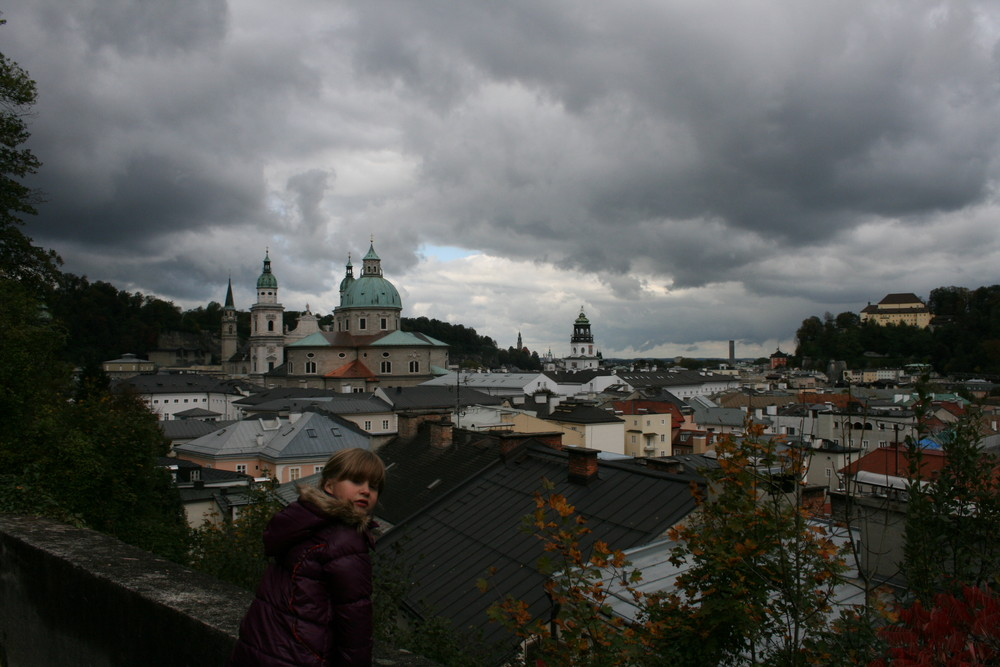 Himmel über Salzburg