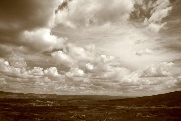 Himmel über Sault