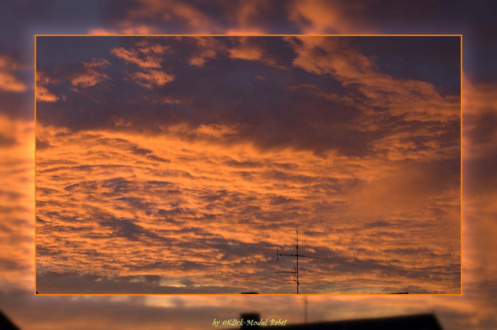 Himmel über Schweinfurt