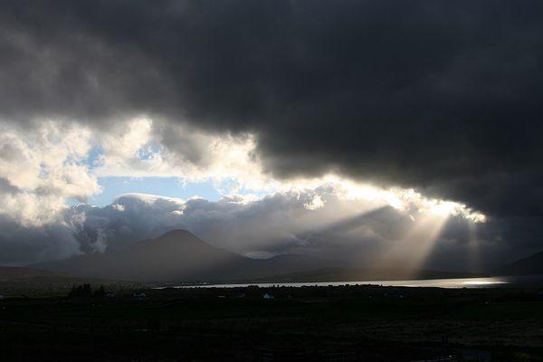 Himmel über Skye II
