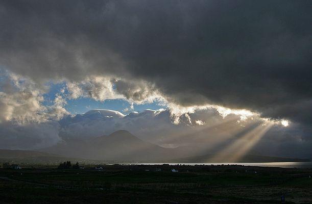 Himmel über Skye III