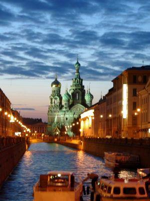 Himmel über St. Petersburg