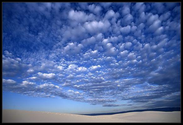 Himmel über White Sands