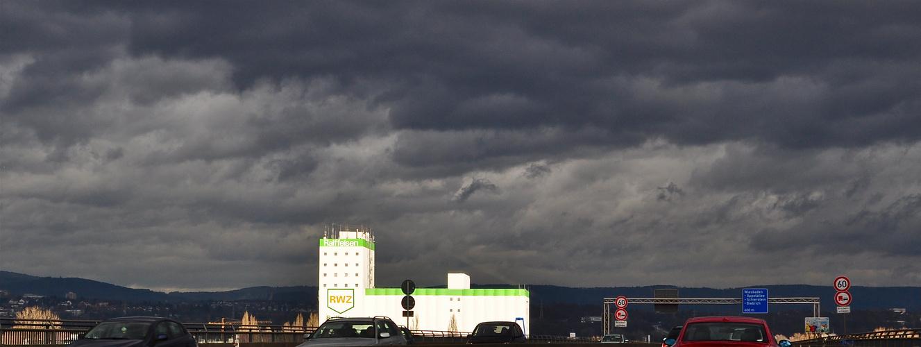 Himmel über Wiesbaden