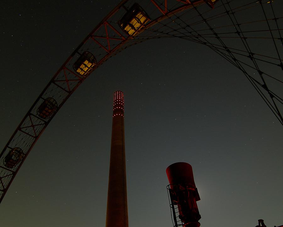 Himmel über Zollverein...