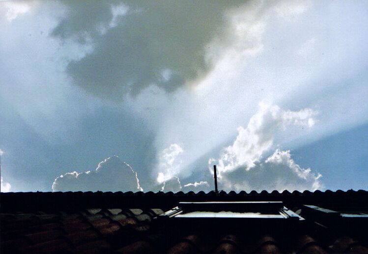 Himmel über Zuhause