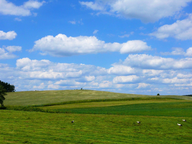 Himmel und Erde in Masuren
