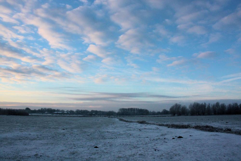 Himmel und Kälte