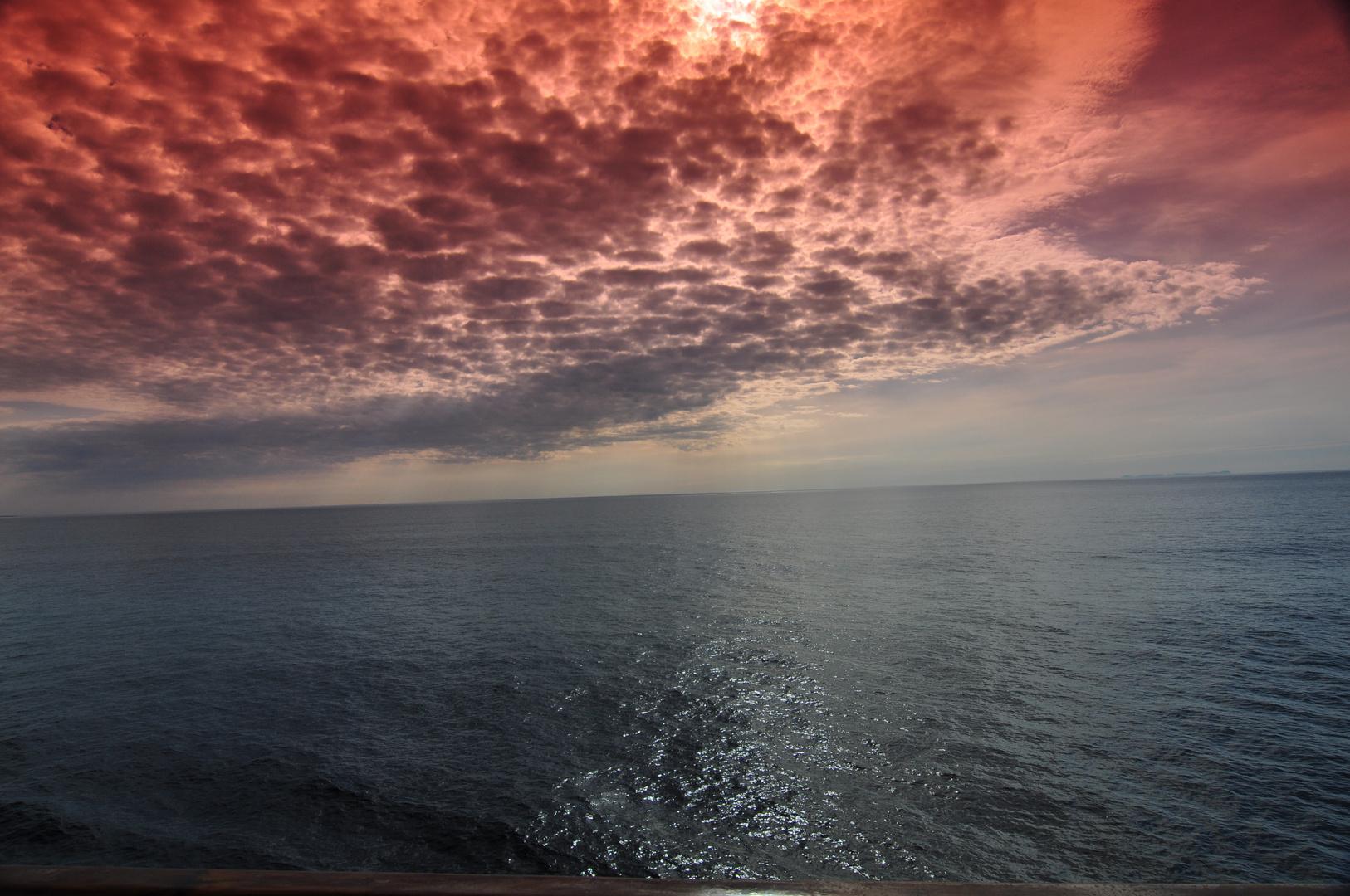Himmel und nordische See