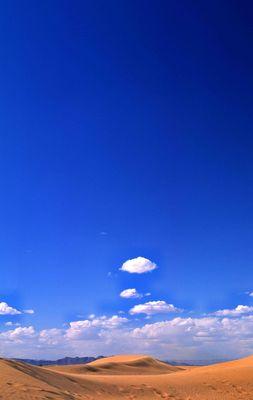 Himmel und Wüste in Marokko