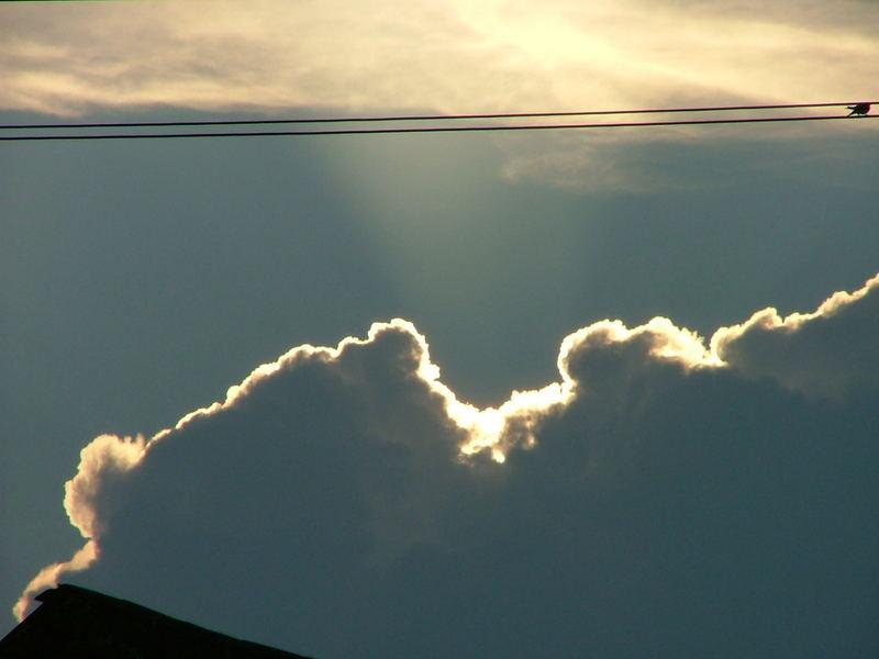 Himmel verdeckt die Sonne