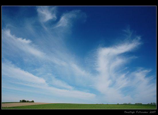 Himmel wie gemalt