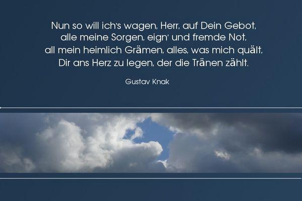 Himmel, Wolken, Sorgen...