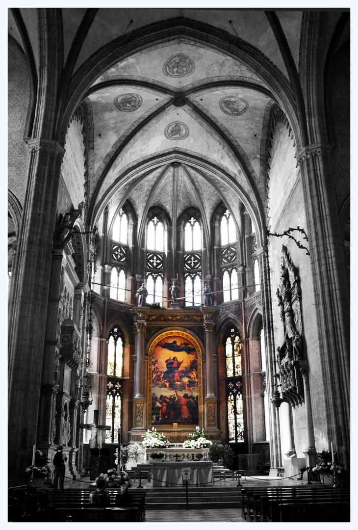 Himmelfahrt Mariens von Tizian in Frari