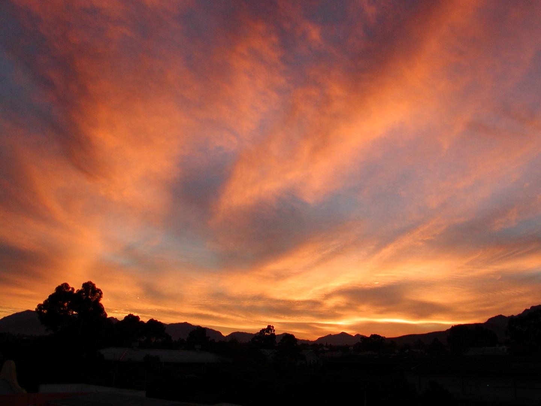 Himmelglühen in Süd Afrika