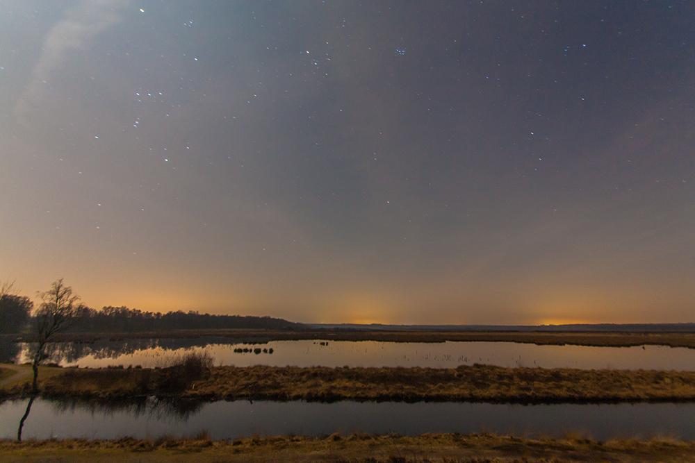 Himmelmoor bei Nacht