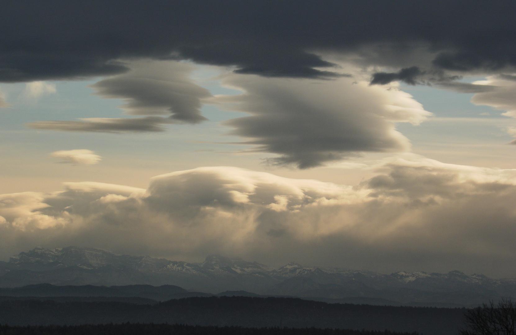 Himmels-Aquarelle...die etwas anderen Herbstbilder... 6v10