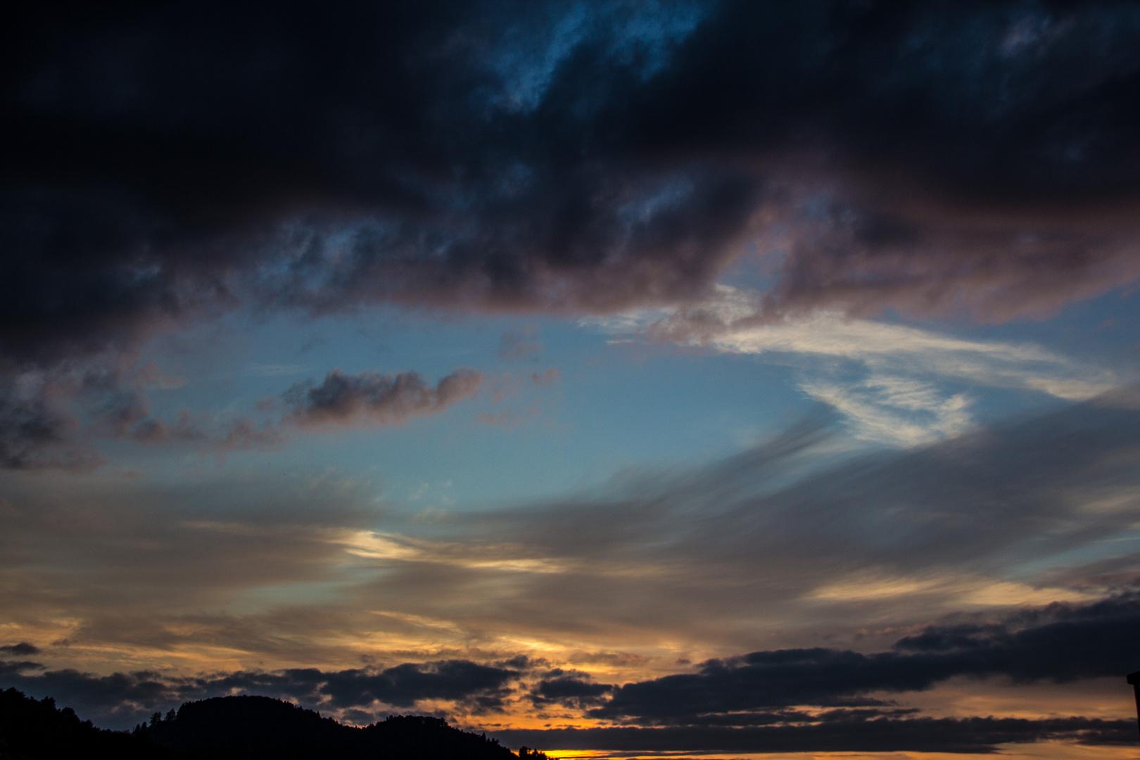 Himmelsauge über Herisau
