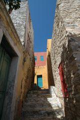Himmelspforte auf der Insel Symi in Griechenland