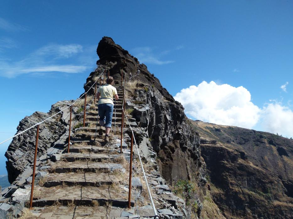 Himmelstreppe auf Madeira