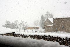 Himmighofen, Wetterbericht 9.12.2010 14.°° Uhr 0° Schneefall ;)