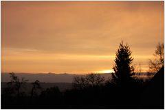 Himmighofen Wetterbericht vom 22.1.2011 8.45 knappe 0.4°
