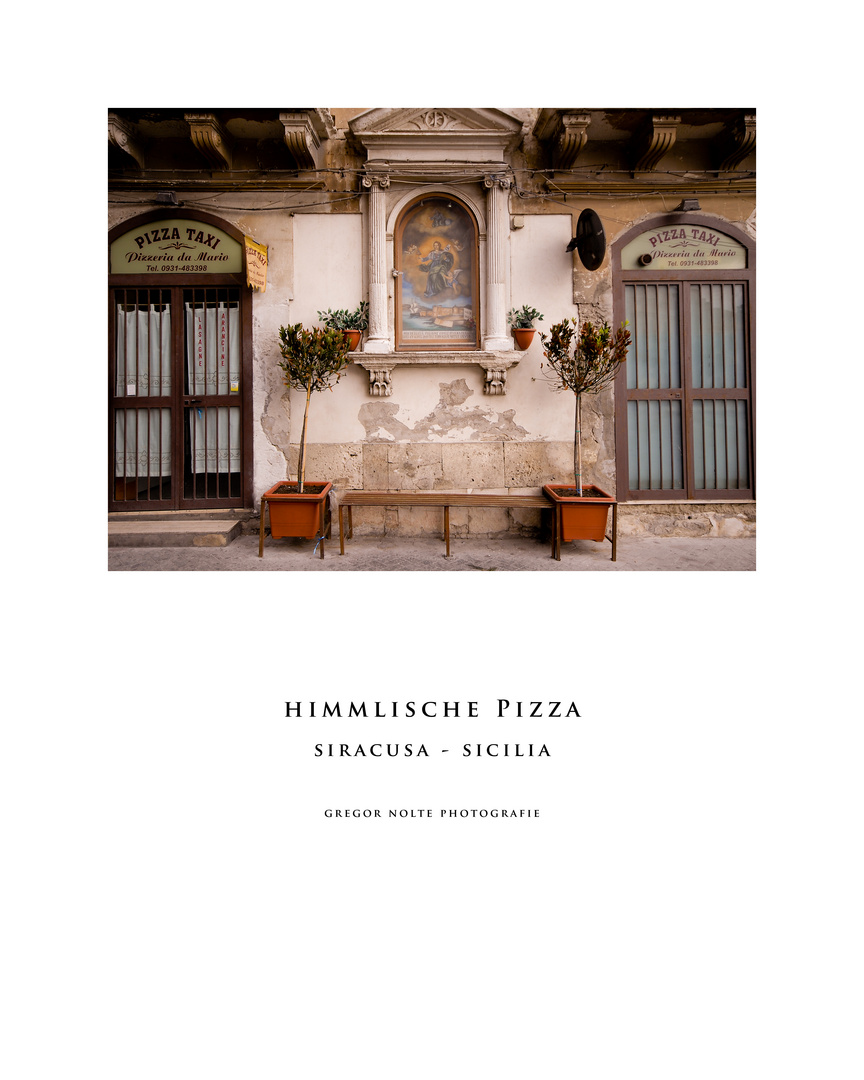 Himmlische Pizza