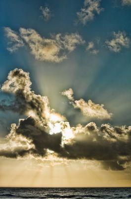 Himmlischer Besuch in Hörnum