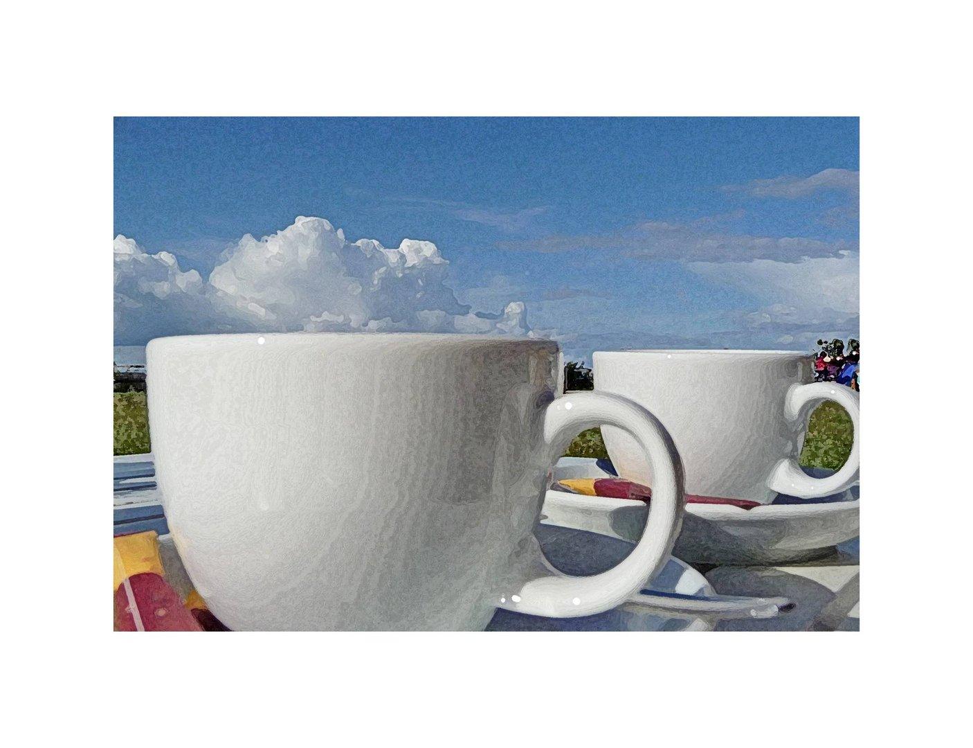 Himmlischer Cappuccino