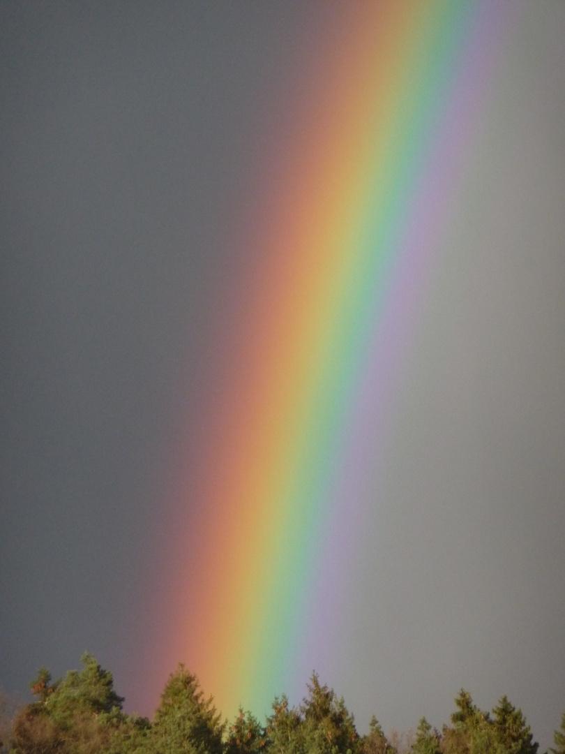 himmlischer Farbenguss