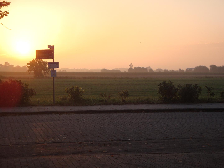 Himmlischer Sonnenaufgang
