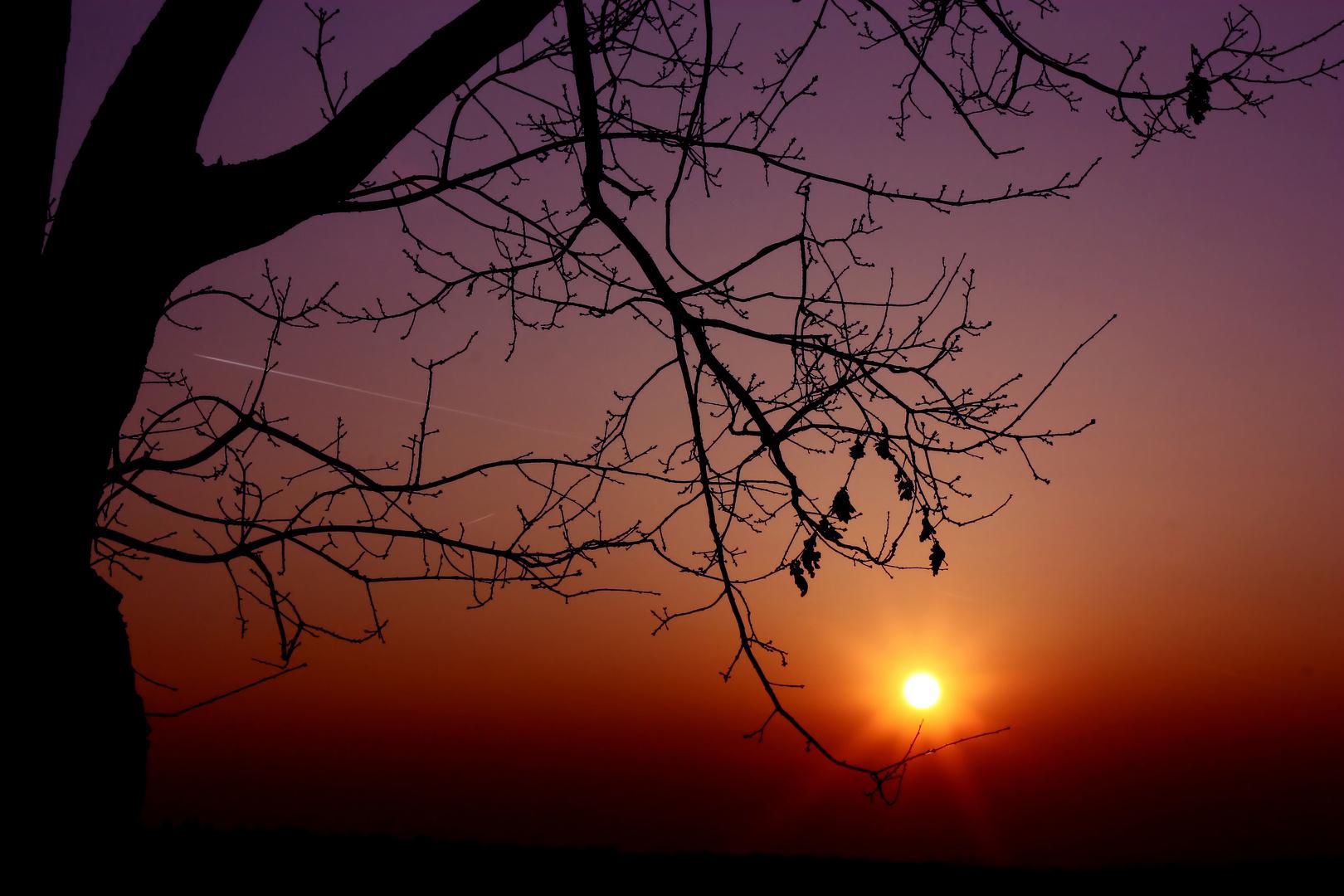Himmlisches Farbspiel