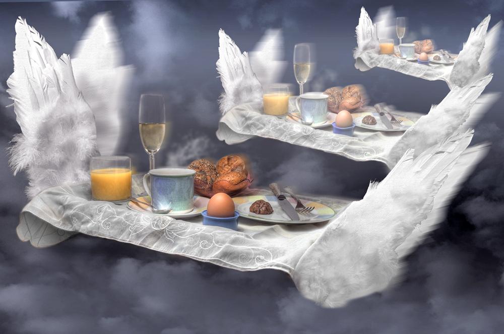 Himmlisches Frühstück