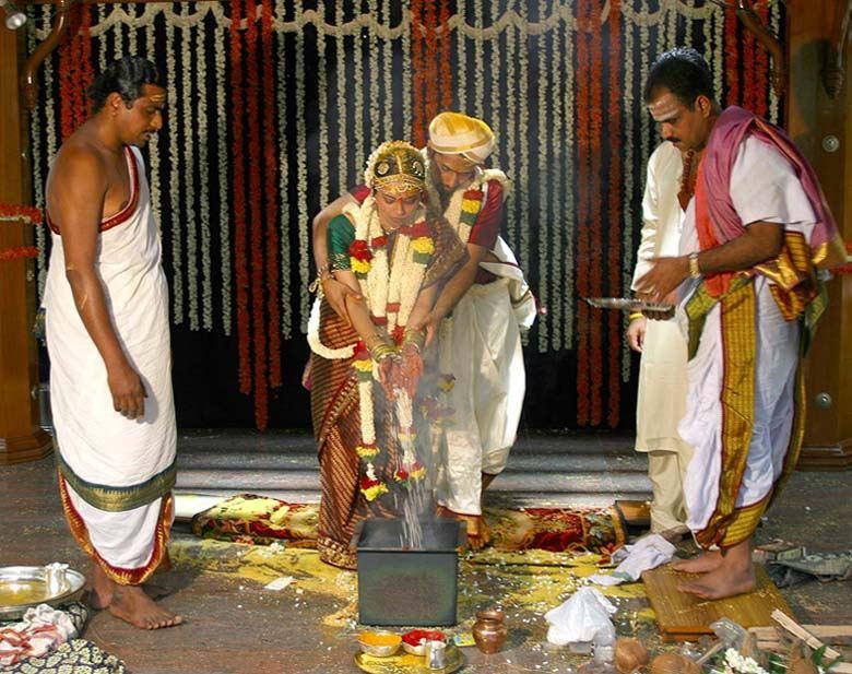 Hindi-Hochzeit