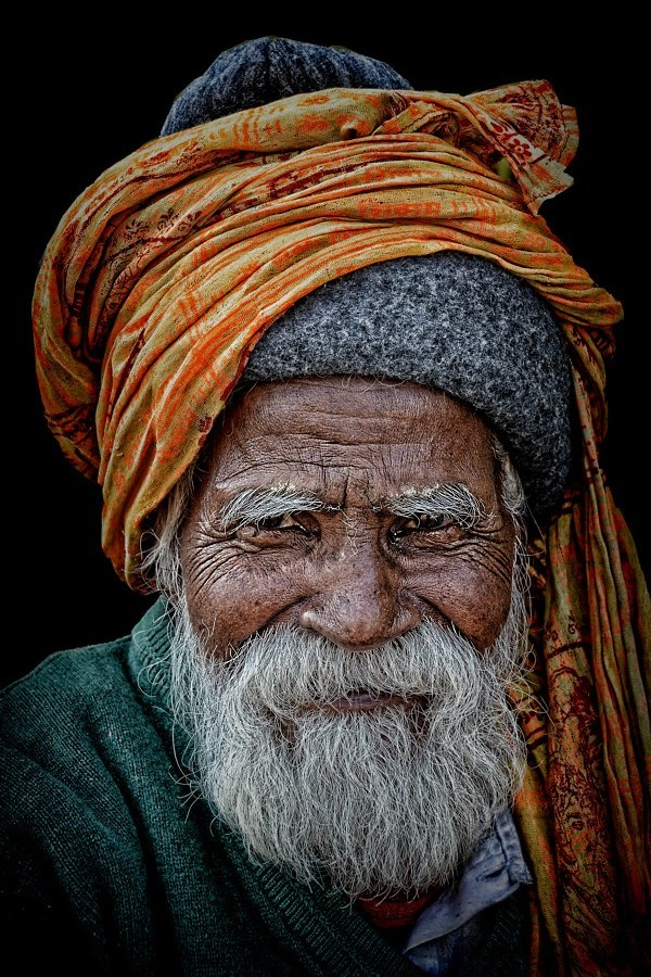 hindu pilgrim in Pushkar