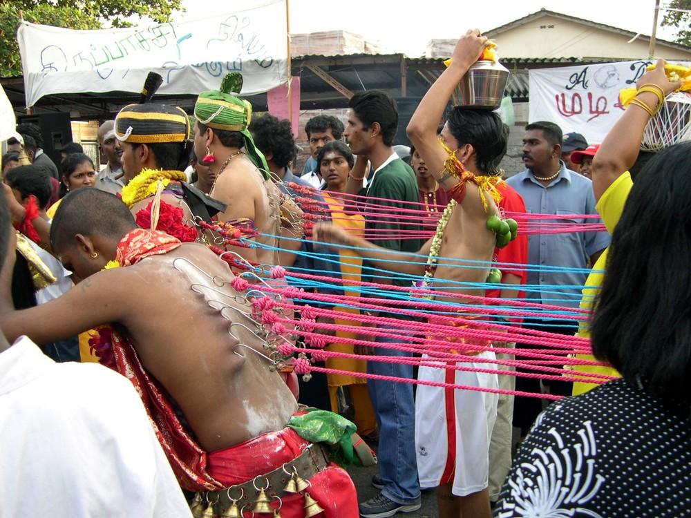 Hindu - Procesion in Malaysia 2