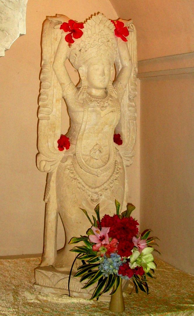 HinduGöttin auf Bali