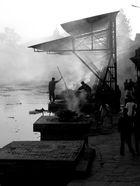 hinduistic cremation at Pashupatinath Temple