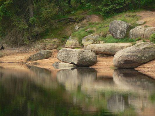 Hinkelsteine im Nationalpark Harz