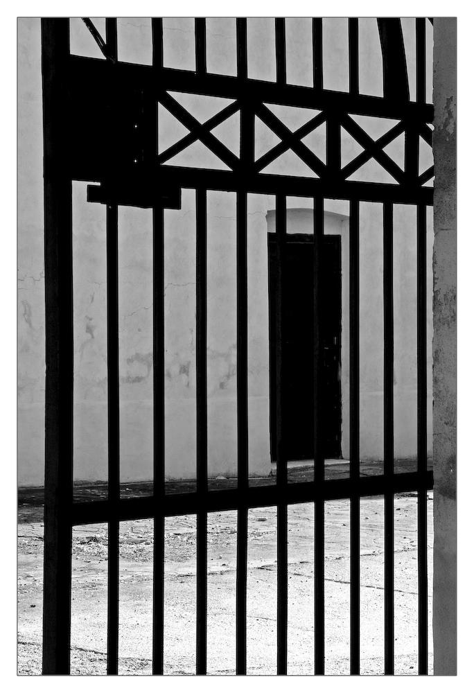 Hinter den Gittern der kleinen Festung Theresienstadt #2